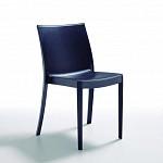 Cadeira Perla sem Braços - Preto