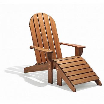 Cadeira Adirondack Michigan com Peseira