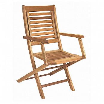 Cadeira Dobrável Parati com Braços