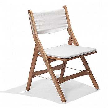 Cadeira Dobrável Trip sem Braços Com Kit Almofada