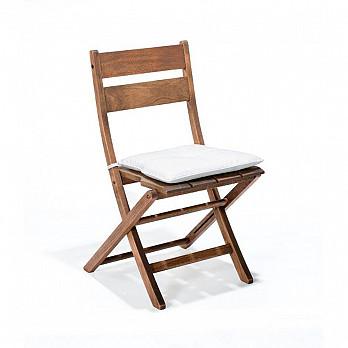 Cadeira Dobrável Verona sem Braços com almofada
