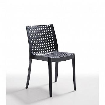 Cadeira Kelly sem Braços - Carbono