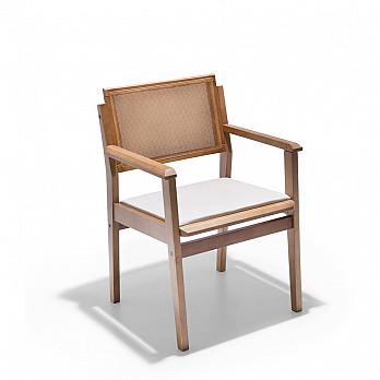 Cadeira Nice com Braços Com Assento Estofado