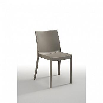 Cadeira Perla sem Braços - Cinza