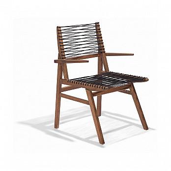 Cadeira Veleiro com Braços - Corda Náutica
