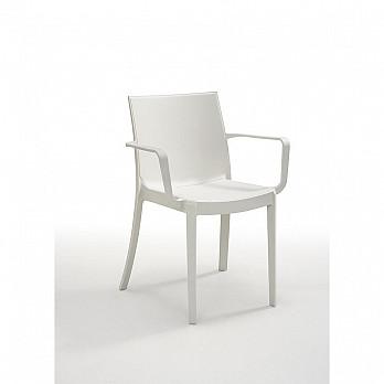 Cadeira Victoria com Braços - Branco