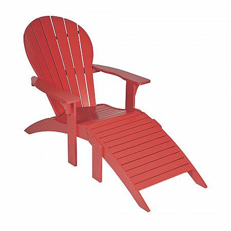 Cadeira Adirondack Adeli com Peseira