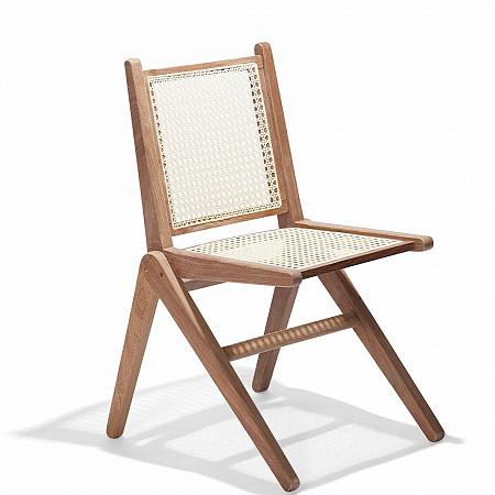 Cadeira CM9 sem Braços - Assento Palha/Encosto Palha