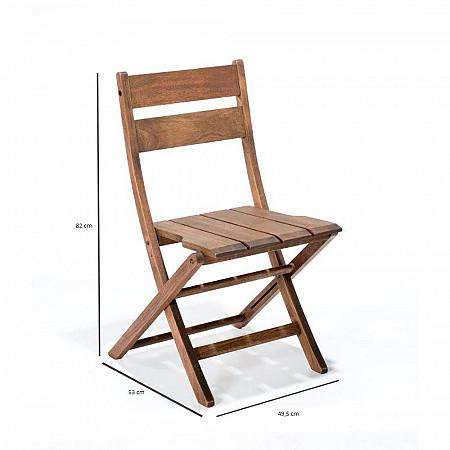 Cadeira Dobrável Verona sem Braços