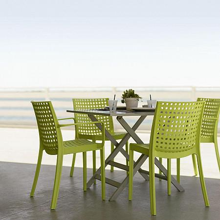 Cadeira Kelly sem Braços - Verde