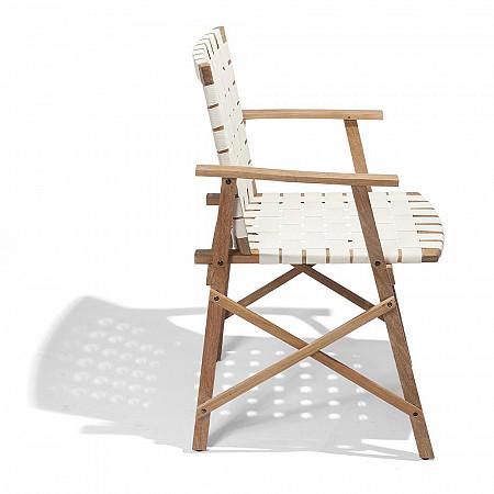 Cadeira Maresias com Braços - Percinta Off White