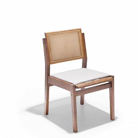 Cadeira Nice sem Braços Com Assento Estofado
