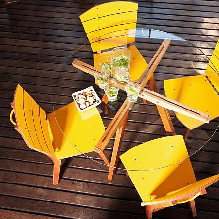 Cadeira Rio Pet Amarelo