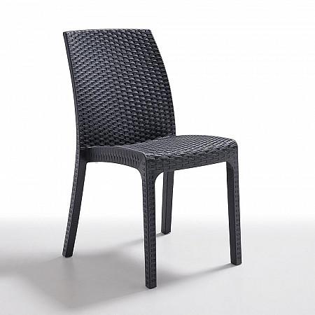 Cadeira Virginia sem Braços - Carbono