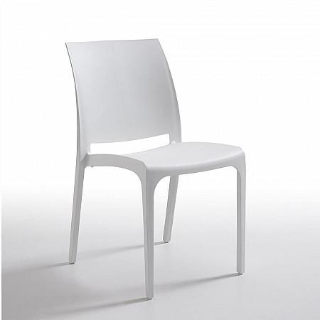Cadeira Volga sem Braços - Branco