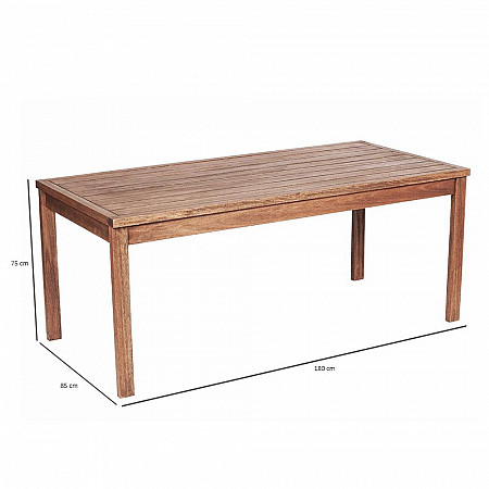 Mesa Mestra Ipanema 180 x 85